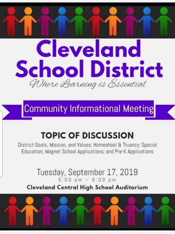 Cleveland School District / Homepage