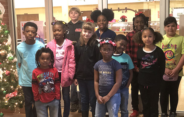 Pearman Elementary's Students of the Month for November 2018