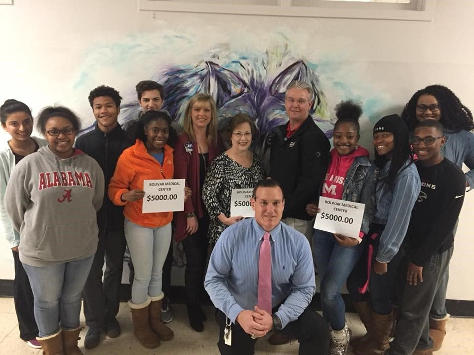 CCHS wants to express our deepest gratitude to BOLIVAR MEDICAL CENTER for making a $5000.00 Donation to the Wolves Dual-Credit Scholarship Program, which invests in our kid's future!