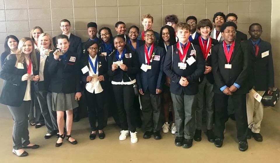 Congratulations to CCMS TSA team!  CCMS TSA Team placed in several categories and will advance in national competition in Atlanta in June.