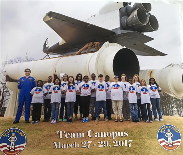 6th Grade Space Camp 2017