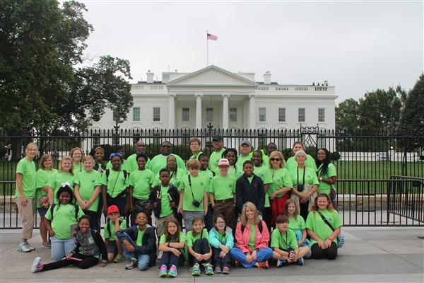 Bell Academy visits the White House